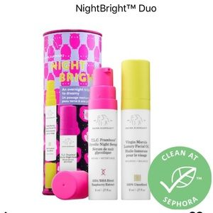 Drunk Elephant Night Bright Duo